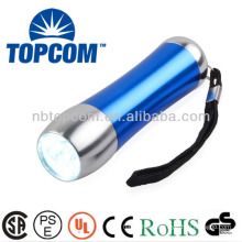 Recently Released 9 Led Flashlight Mini promotional OEM Aluminium Torch