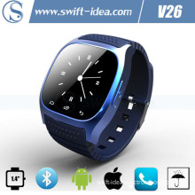 Smart Competible Android OS Answer Call Mens Waterproof Watches (V26)