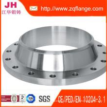 ASTM A182 ANSI B16.5 304L 316L Brida de acero inoxidable de fundición