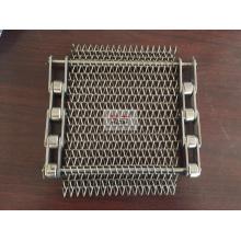 Correa de malla balanceada de acero inoxidable para equipos de tratamiento térmico