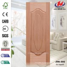 JHK-000 Новый дизайн 1 + 1 панели Торговая гарантия Главная Депо Фанера Сапелли Литой Дверь Оптовая торговля