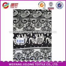 100% Rayon Crinkle Print Fabric