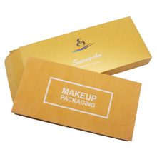 Caixa de cosméticos, embalagem, paleta de sombra