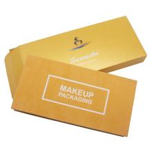 Boîte de palette de fard à paupières d'emballage de boîte cosmétique