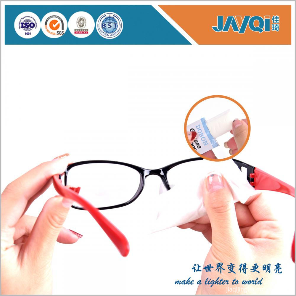 Anti-fog Eye Glasses Cleaning Wet Wipes