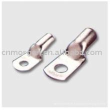 Cosse en cuivre bimétallique isolée de qualité fiable