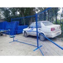 Хорошее качество низкая цена Размер сетки 50мм*150мм ПВХ Pwderd Канада временный забор