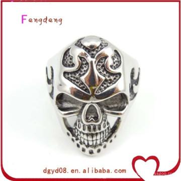 Hot sell skull stainless steel ring for men wholesale
