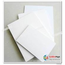Feuille libre de PVC de mousse / panneau en plastique de mousse de PVC / feuille de Pvcplastic pour le Cabinet