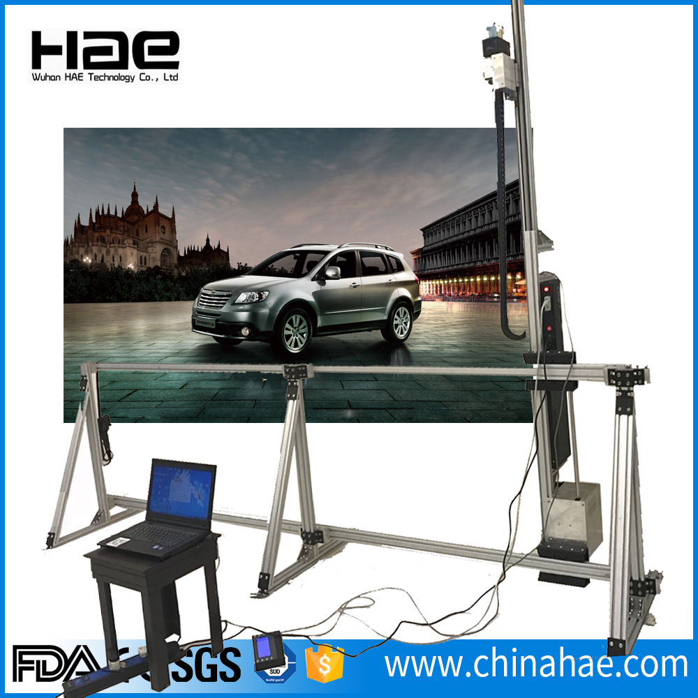 cars advertisment painting machine