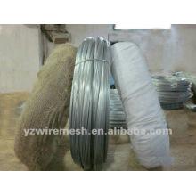 SWG 20 electro alambre de hierro galvanizado fabricación fábrica de alambre de hierro galvanizado