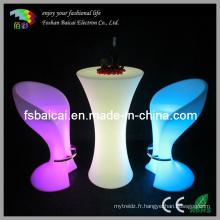 Table LED avec 16 couleurs (BCR-872T)