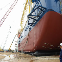 boat pontoon using ship launching and landing ship salvage for shipyard