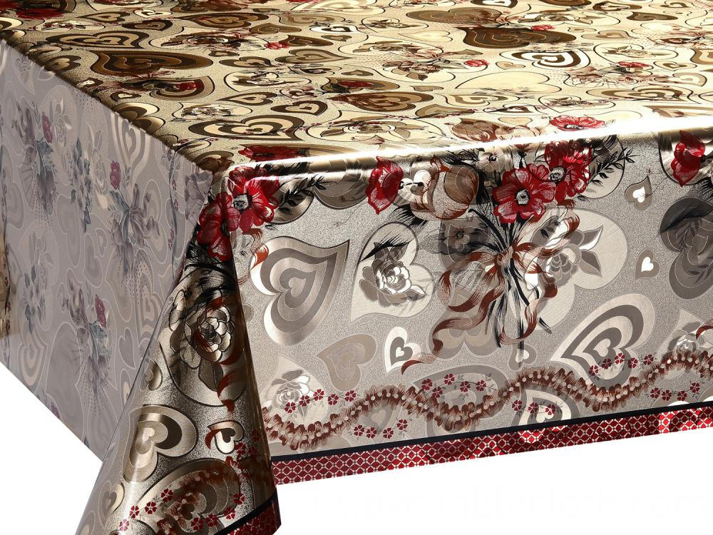 Gold And Silver Tablecloths 2