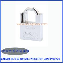 Top-Qualität verchromt Schäkel geschützt Vane Vorhängeschloss