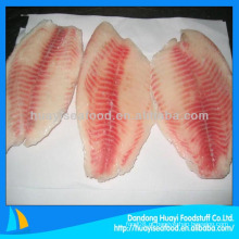 Filete de peixe congelado 3-5oz tilapia fillet