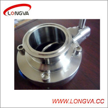 Stainless Steel 6′′ Clamped Butterfly Valve