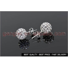 shamballa stud earrings