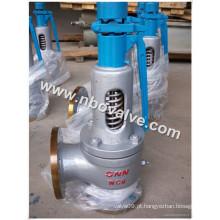 Válvula de segurança de alívio de pressão da caldeira de vapor (A48Y)
