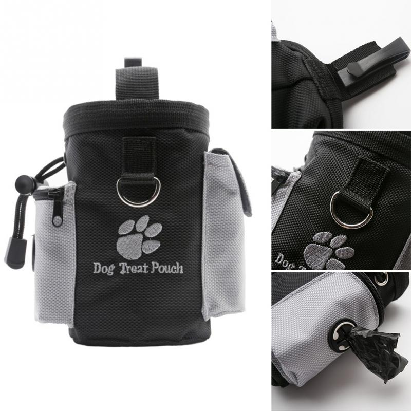 Portable Detachable Dog Training Treat Bags Doggie Pet Feed Pocket Pouch Puppy Snack Reward Waist Bag 2