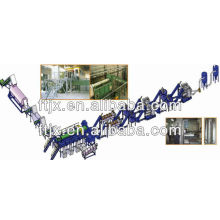 pet bottle recycling machine/PET bottle crushing washing recycling machine