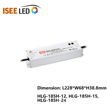 HLG-185 Meanwell 185W防水IP65電源