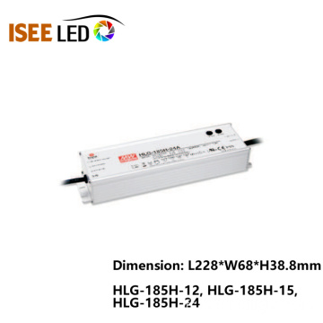 HLG-185 Meanwell 185W Imperméable à l'eau IP65 Alimentation