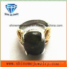 Art- und Weisekörper-Schmucksache-schwarzer Edelstein-Finger-Ring (SCR2886)