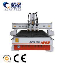 Máquina de la carpintería de 3 ejes multi cnc enrutador