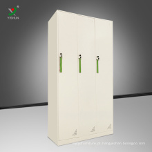 Armário de armazenamento de aço armário de armazenamento de pano de aço armário de porta 3