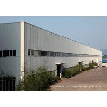 Taller de estructura de acero fácil de construir