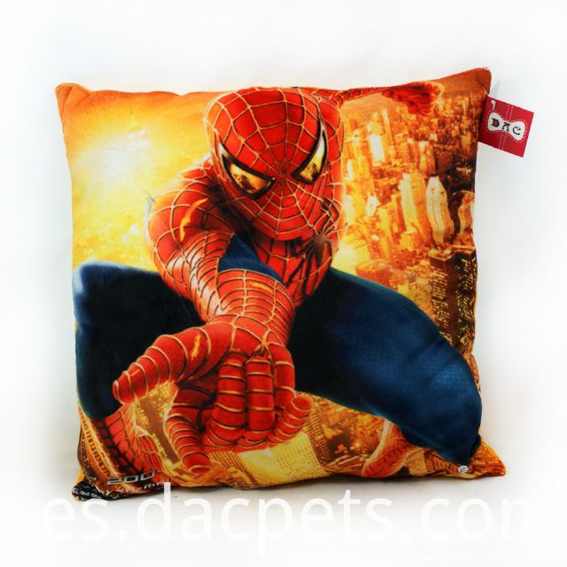 spiderman cartoon cushion