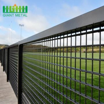 hot dipped double wire fence