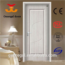 Economic steel wood water resistant doors