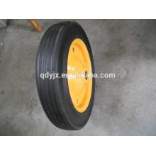 резиновые тачку стальной обод колеса 13'' x 3'' полупроводниковые