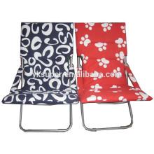 Cadeira de praia reclinável reclinável cadeira de sol para design colorido