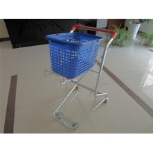 Plastic Handing Basket Trolley (YRD-J5)