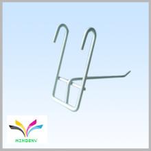 Smart design metal gridwall élément plat affichage crochet de fil
