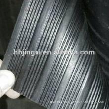 Insulation Rubber Sheet , Black Insulation Sheet , Wide & Fine Ribbed Rubber Sheet