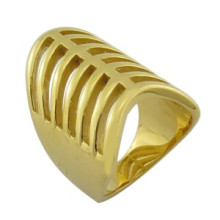 Dubai Style 18k en argent plaqué Figer Ring