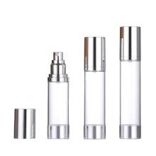 Bouteille vide d'apprêt de maquillage pour emballages cosmétiques bouteille airless