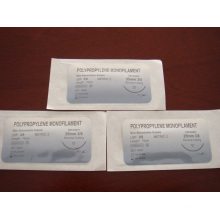 Surgical Atraumatic Suture - Polypropylene Monofilament