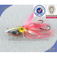 MJL040 señuelo en blanco señuelo arte de la pesca señuelo de embalaje plomo pescado