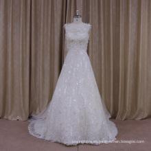Vestido de novia completo de la línea
