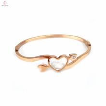 Cupid Love 18K rose gold plated zircon bracelet