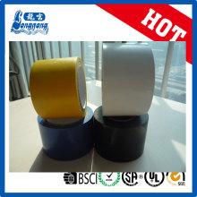 Fita de isolação de tinta colorida de borracha de PVC