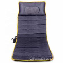 Electric Rolling Kneading Cushion Vibrating Mat Full Body Massage Mattress