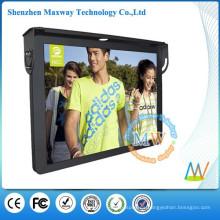 Soporte WiFi o 3G red 19 pulgadas LCD pantalla coches y autobuses publicidad