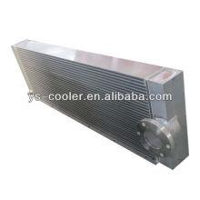 Intercambiador de calor de aleta de aluminio para maquinaria de ingeniería