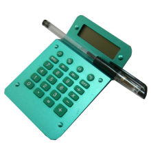 Standard Function Desktop Calculator with Pen Holder
